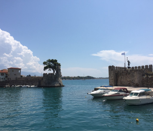 Anchorages and marinas in Etoloakarnania