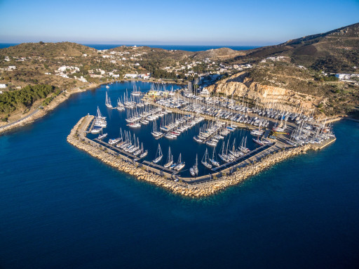 Anchorages and marinas in Kalimnos