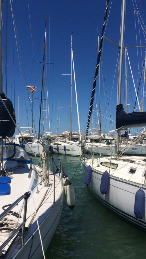 Anchorages and marinas in Marche