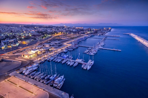 Anchorages and marinas in Rodos
