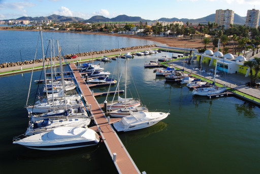 Anchorages and marinas in Region of Murcia