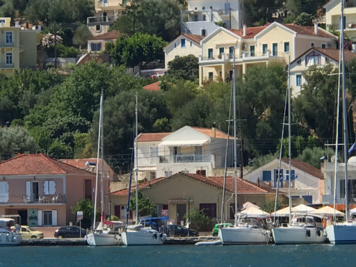 Anchorages and marinas in Ithaki