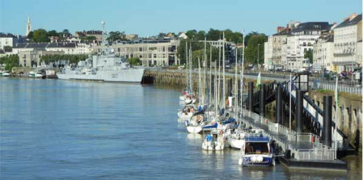 Anchorages and marinas in Pays de la Loire