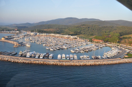 Anchorages and marinas in Provincia di Grosseto