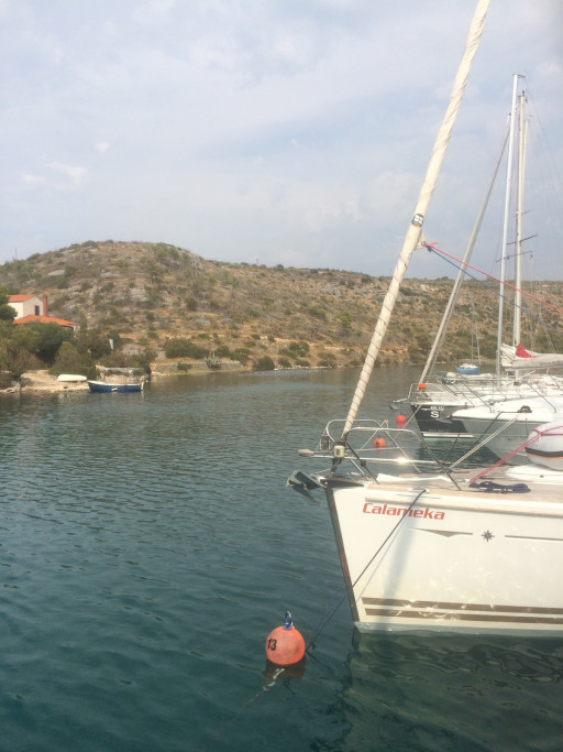 Anchorages and marinas in Croatia