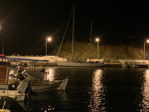 Anchorages and marinas in Lakonia