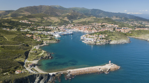 Anchorages and marinas in Occitan