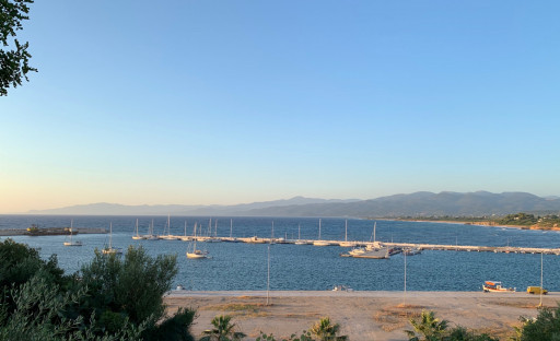 Anchorages and marinas in Messinia