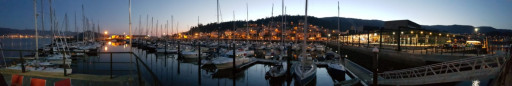 Anchorages and marinas in Pontevedra