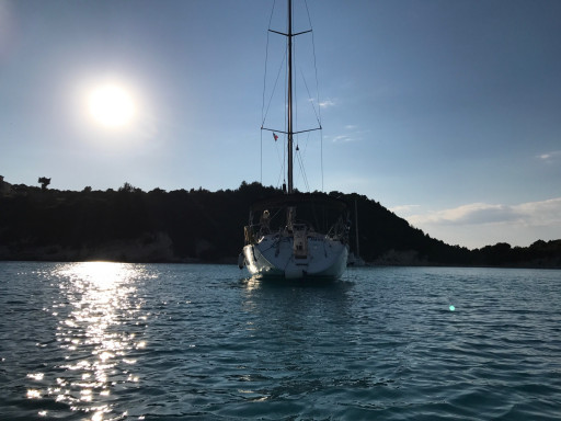 Anchorages and marinas in Corfu
