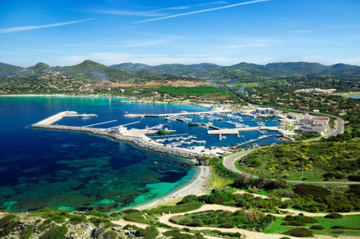 Anchorages and marinas in Sardinia