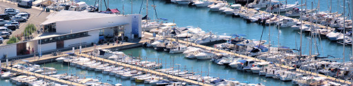 Anchorages and marinas in Catalonia